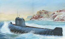 "Zvezda K-19 Soviet Nuclear Submarine ""Hotel"""
