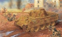 Dragon Panther Ausf.D w/Zimmerit Coating