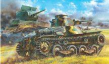 Dragon IJA Type 95 Light Tank