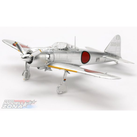 Tamiya - 1/72 MITSUBISHI A6M5 (ZEKE) Zero Fighter Silver Plated - makett