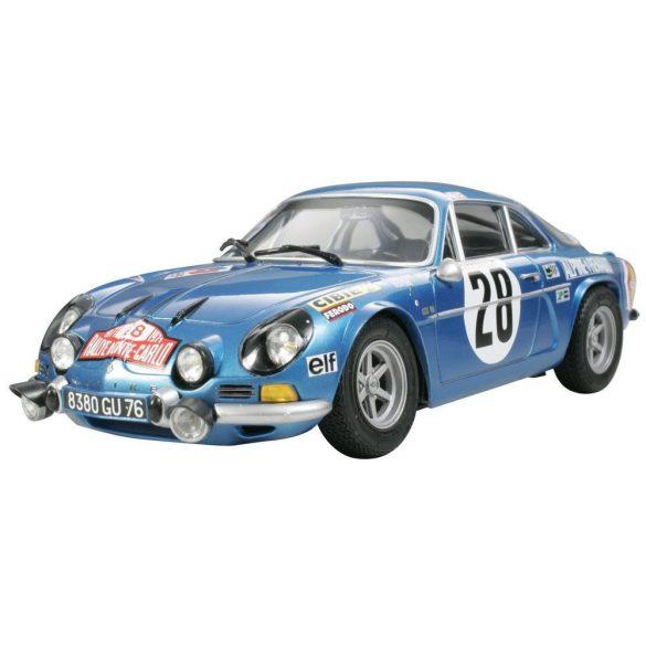 Tamiya Renault Alpine A110 1971 - Monte Carlo - makett