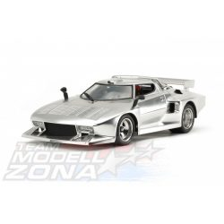Tamiya - 1:24 Lancia Stratos Turbo Silver plated - makett