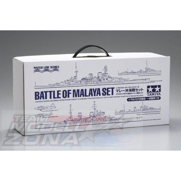 Tamiya - 1:700 Battle of Malaya Set limited edition- makett szett