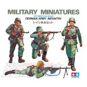 Tamiya - 1:35 Fig.-Set Dt. Infanterie - német lövészek 4 figura