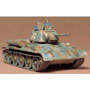 Tamiya Russian T34/76 1943 Tank - makett