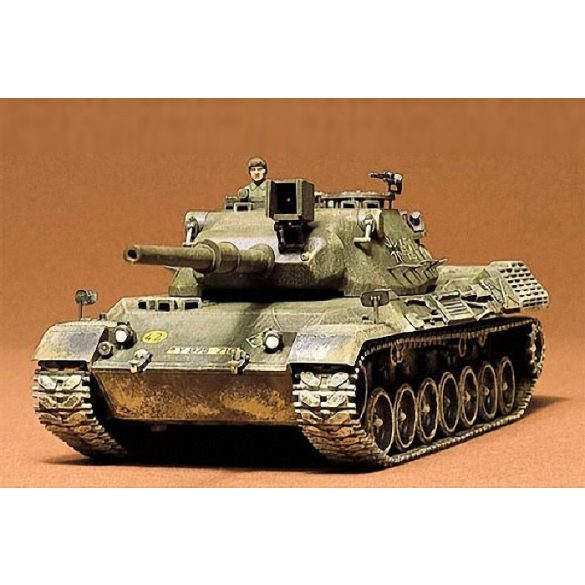 Tamiya German Leopard Med Tank - makett