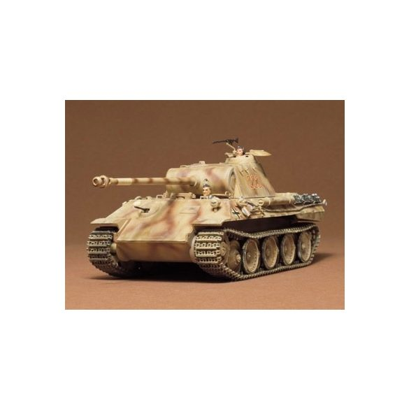 Tamiya German Panther Med Tank - makett