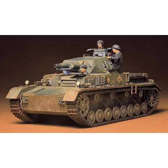 Tamiya German Pzkpw IV AusfD - makett