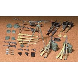 Tamiya German Infantry Weapons Set - makett