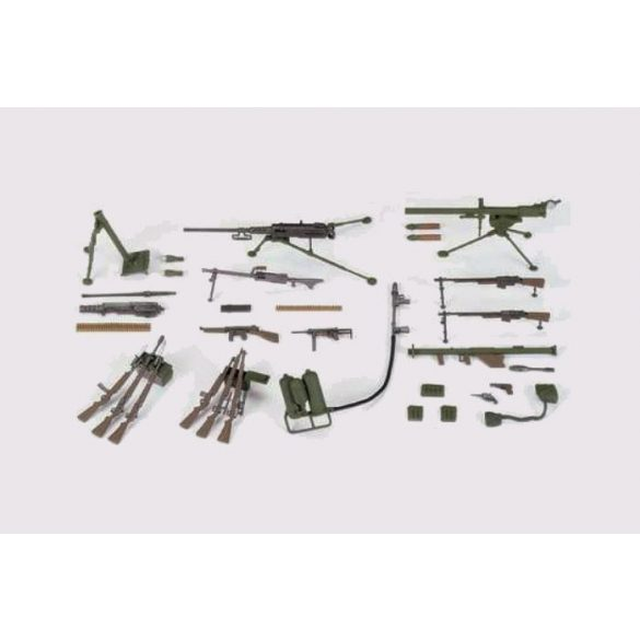 Tamiya U.S. Infantry Weapons Set - makett