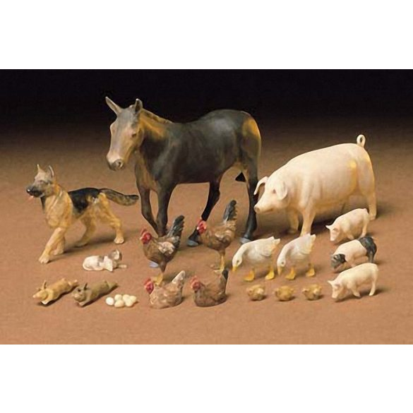 Tamiya Livestock Set - makett