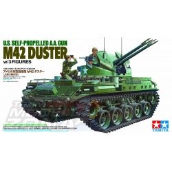 Tamiya - 1:35 US Flak-Panzer M42 Duster - multitopic makett szett
