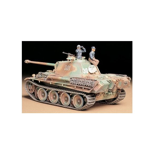 Tamiya Panther Type G Late - makett