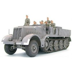 Tamiya German 18T Heavy Half Track Famo - makett