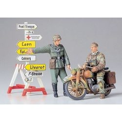 Tamiya German Motorcycle Orderly Set - makett