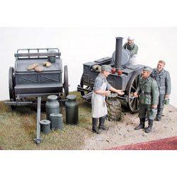 Tamiya German Field Kitchen Scenery - makett