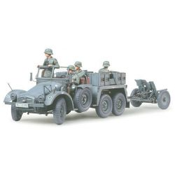 Tamiya Krupp Towing Truck w/37mm Pak - makett