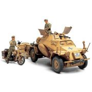 Tamiya Sd.Kfz.222 North Africa - makett