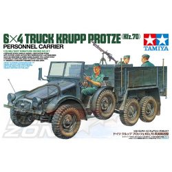 Tamiya German 6x4 Truck Krupp Protze - makett
