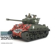 Tamiya 1:35 US M4A3E8 Sherman Easy Eight Korean- makett
