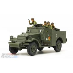 Tamiya 1/35 M3A1 Scout Car - makett