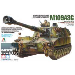 Tamiya - 1:35 Bundeswehr M109A3G Haubitze - makett