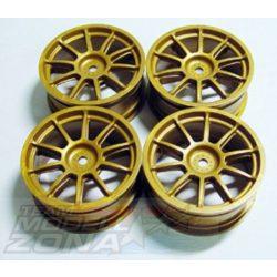 1:10 Wheel Subaru Impreza gold 24,5mm(4)