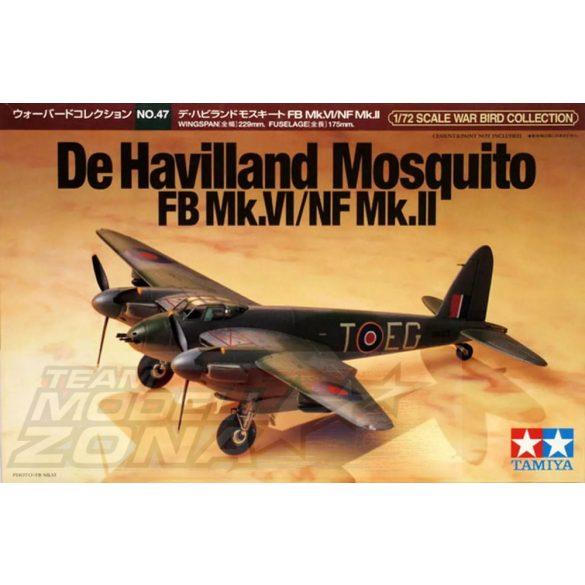 Tamiya De Havilland Mosquito FB Mk.IV - makett