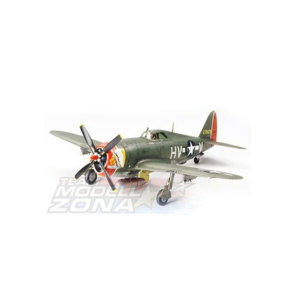 Tamiya Republic P-47D Thunderbolt - Razorback - makett
