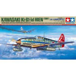 Tamiya - 1:48 Jap. Ki-61-Id Hien (Tony) Flzg.- makett