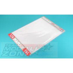 Tamiya - 1 db átlátszó műanyag lap - 1.7 mm vastagság