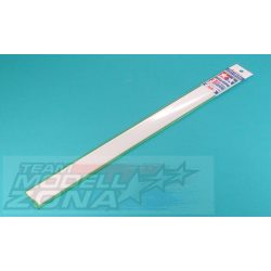 Tamiya - 10 db 3x3 mm, 400 mm hosszú négyszögletes műanyag profil □