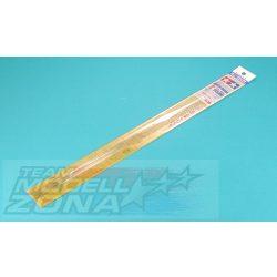 Tamiya - 6 darab 2mm átmérőjű átlátszó műanyag rúd profil