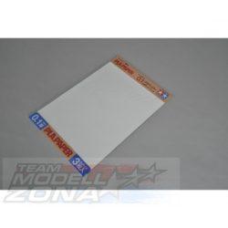 Tamiya - 3 db műanyag lap 0.1 mm vastagság
