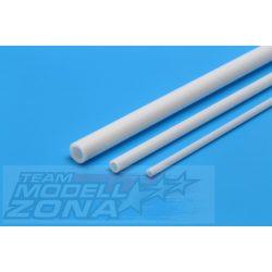 Tamiya - 6 db 400mm hosszú fehér műanyag cső profil