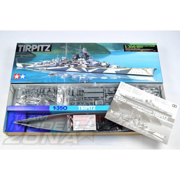 Tamiya German Tirpitz Battleship- makett