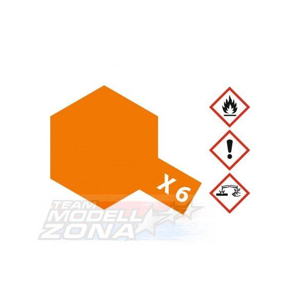 Tamiya Acrylic X-6 Orange