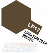 LP-17 Linoleum deck brown (Dkl.)10ml (VE6) - fedélzet barna - festék
