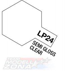 LP-24 semi gloss clear 10ml (VE6) - félfényes lakk - festék