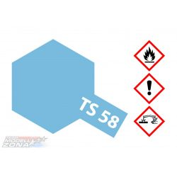 Tamiya TS-58 Pearl Light Blue spray