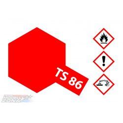 Tamiya TS-86 BRILLIANT RED ACRYLIC SPRAY 100ml festék