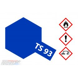 Tamiya TS-93 PURE BLUE ACRYLIC SPRAY 100ml festék