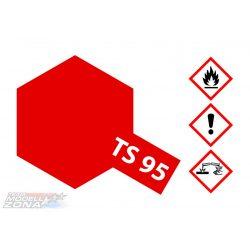 Tamiya 85095 fényes metál piros festék