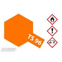 Tamiya TS-96 FLUORESCENT ORANGE SPRAY CAN 100ml festék