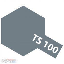 Tamiya TS-100 semi gloss BRIGHT GUN METAL 100ml festék