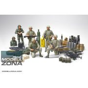 Tamiya - 1:35 U.S. Modern Elite - Infantry w/ Accessory - makett