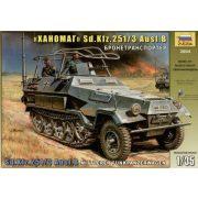 Zvezda Sd.Kfz.251/3 Ausf. B - makett