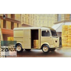 Ebbro - 1:24 Citroen H Transporter - makett (§)