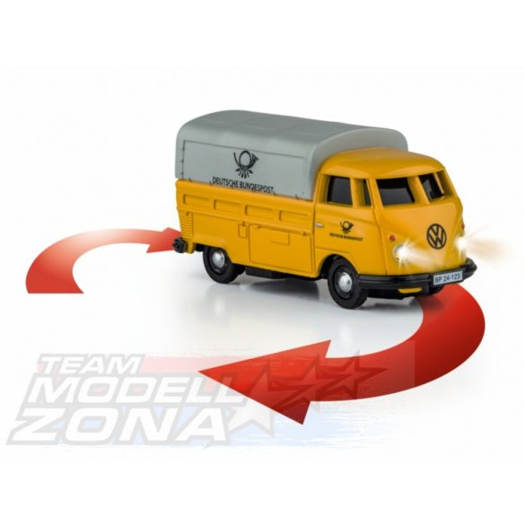 Carson - 1:87 VW T1 Samba német póstás autó 2.4G 100% RTR