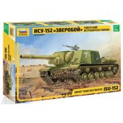 Zvezda ISU-152 Soviet Self-propelled Gun - makett